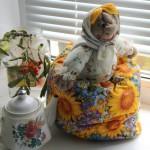 бабушка и чайник