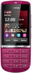 Nokia-Asha-300-Pink